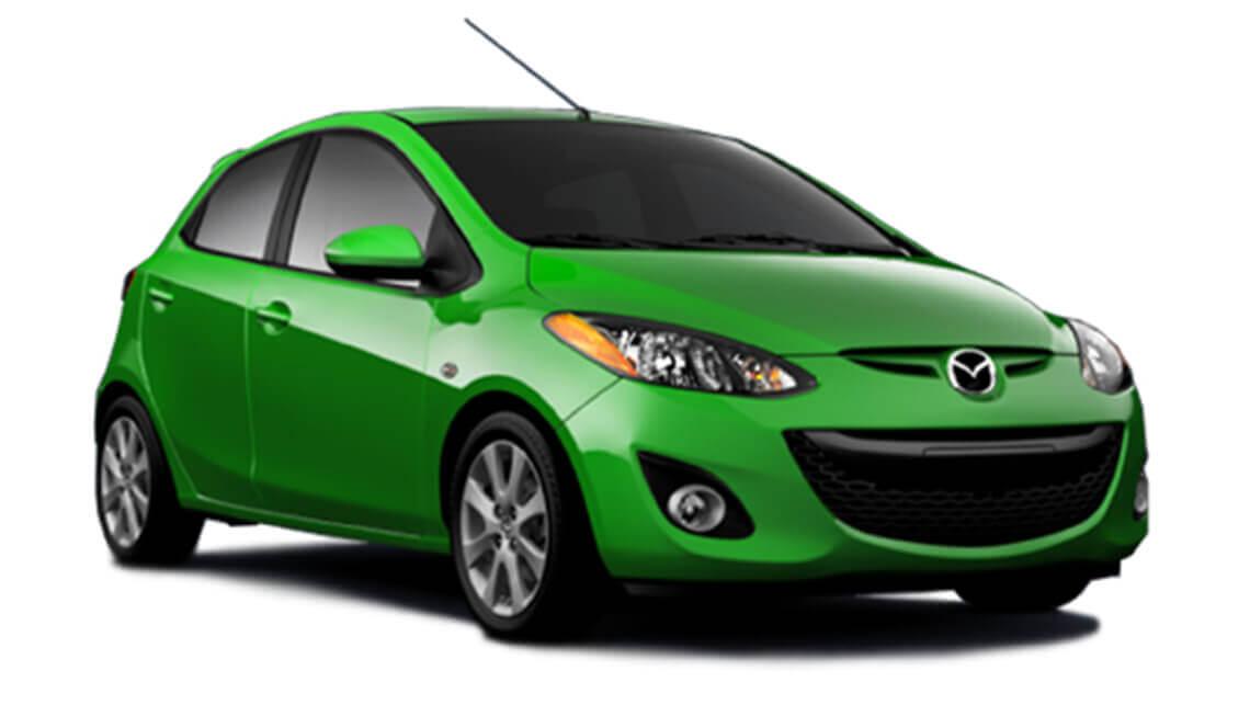 Mazda 2 (or similar)