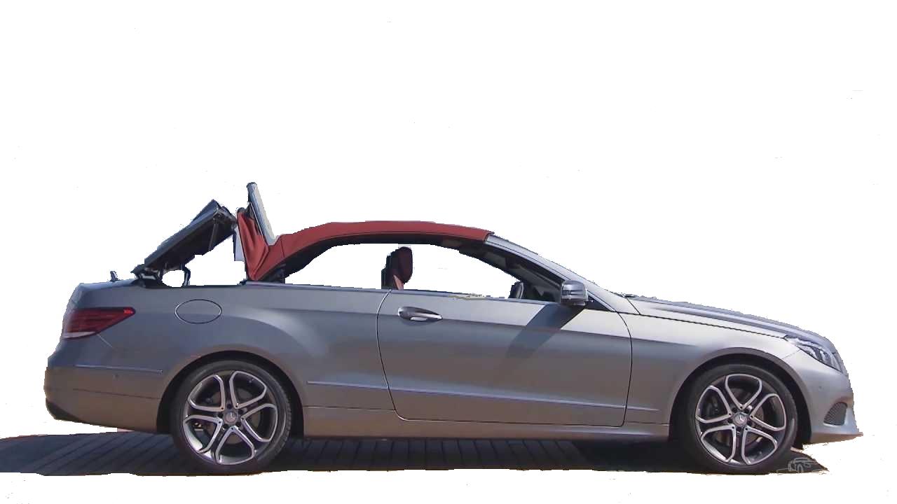 Mercedes Convertible Auto E220D